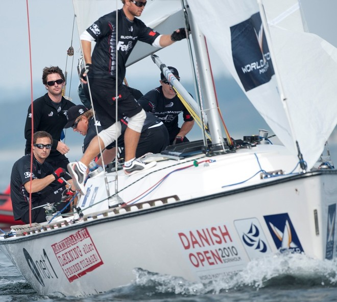 Events Clothing supply the former world champions match racing crew - Blackmatch © SW