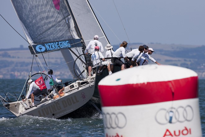 Hooligan wins her second regatta - Audi Victoria Week 2011 Tuesday ©  Andrea Francolini / Audi http://www.afrancolini.com