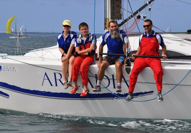 McCall Family - 5th Club Marine Brisbane to Keppel Tropical Yacht Race © Suellen Hurling