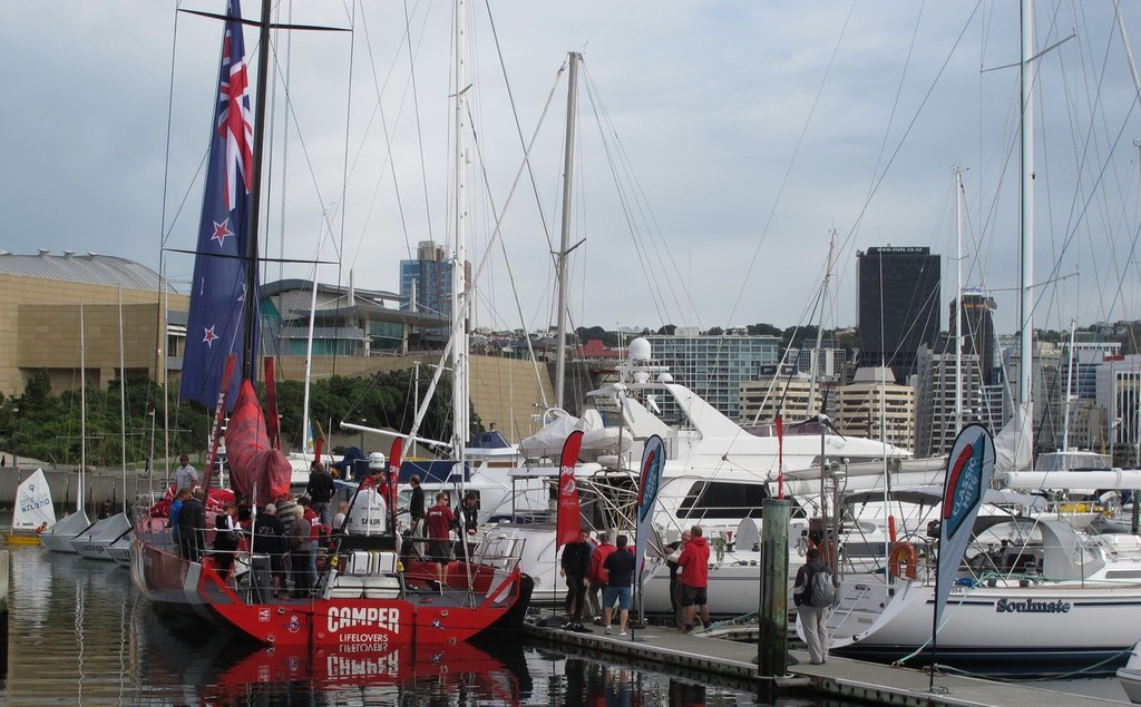 Camper's Tour of New Zealand © Emirates Team New Zealand http://www.etnzblog.com