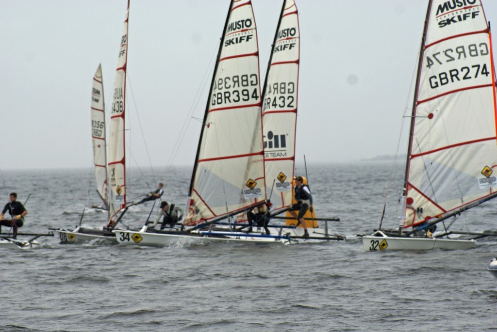 Day 3 - Broo Premium Lager Musto Skiff Worlds, Melbourne © Richard Gladwell www.photosport.co.nz