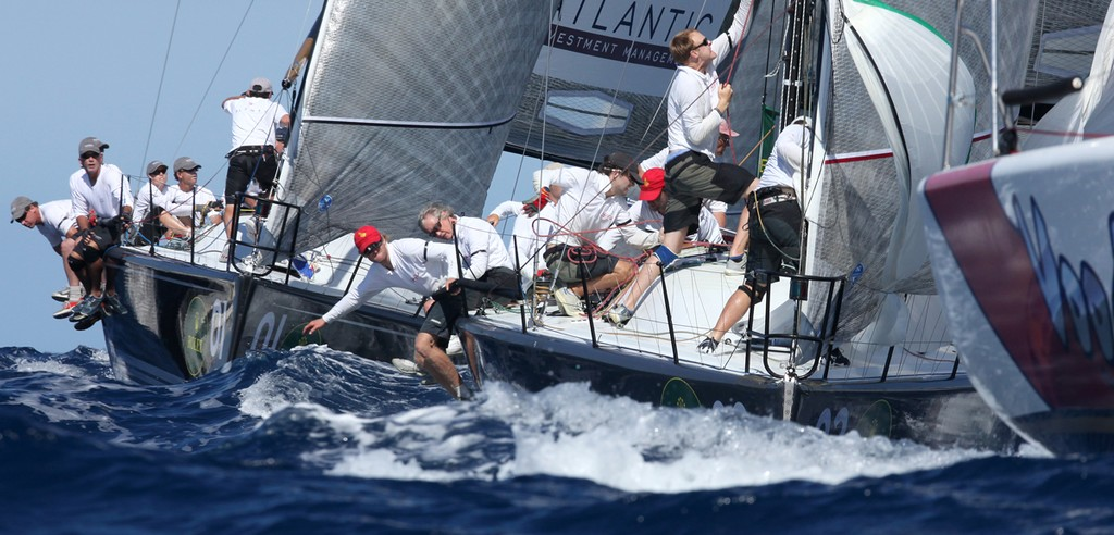 Voodoo Chile leads Le Renard and Plenty round the top mark - Rolex Farr 40 World Championships © Crosbie Lorimer http://www.crosbielorimer.com