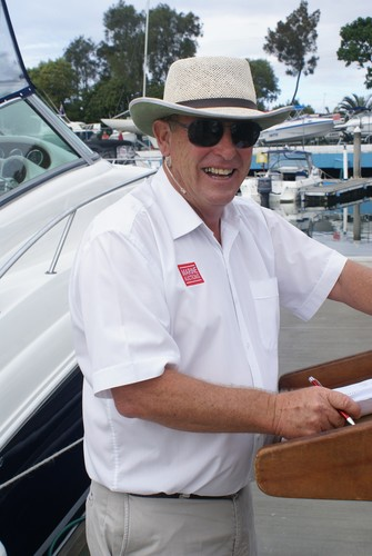 Marine Auctions' CEO Adrian Seiffert © Bob Wonders