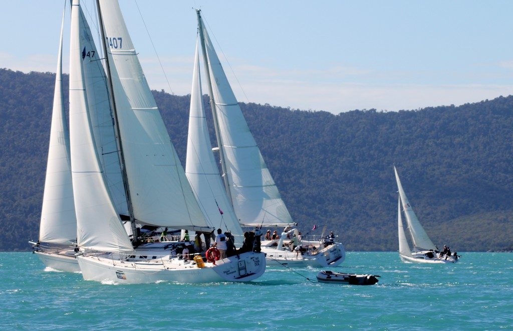 Wave Sweeper with tender - Cruising Non Spinnaker - Meridien Marinas Airlie Beach Race Week © Airlie Beach Race Week media