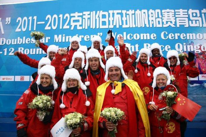 First teams arrive in Qingdao - Clipper Round the World Yacht Race 2011-12 © Clipper Round The World Yacht Race http://www.clipperroundtheworld.com