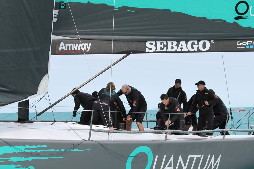 The Quantum Sailing Team will be back in action at 52 Super Series 2013 © Quantum 2012
