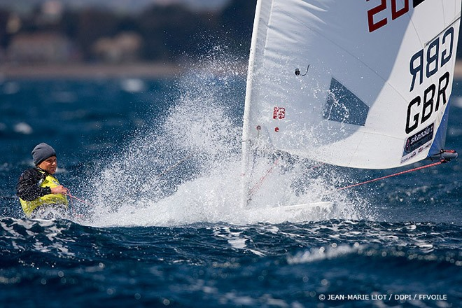 Radial GBR Youth - Semaine Olympique Francaise 2012 Day 3 ©  Jean-Marie Liot /DPPI/FFV