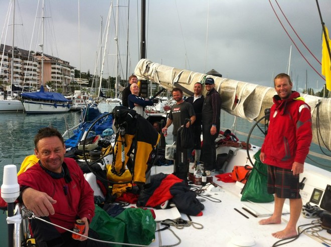 The crew of Kia Kaha © Sail Noumea 2012 http://www.sailnoumea.com/