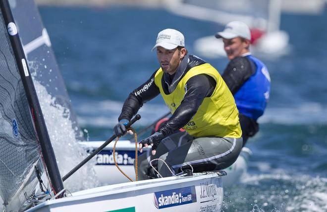 Ben Ainslie (GBR)- Skandia Sail for Gold Regatta 2012 © onEdition http://www.onEdition.com