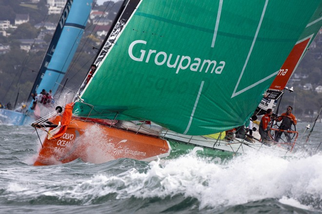 Volvo Ocean Race 2011-12 - Auckland stopover -<br /> GROUPAMA &copy;  Andrea Francolini Photography http://www.afrancolini.com/