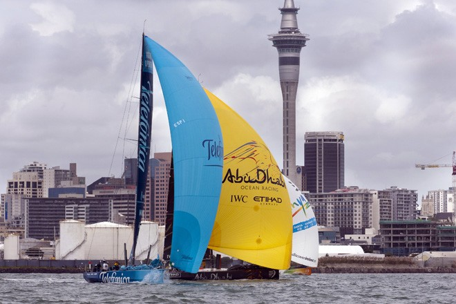 Volvo Ocean Race 2011-12 - Auckland stopover -<br /> TELEFONICA &copy;  Andrea Francolini Photography http://www.afrancolini.com/