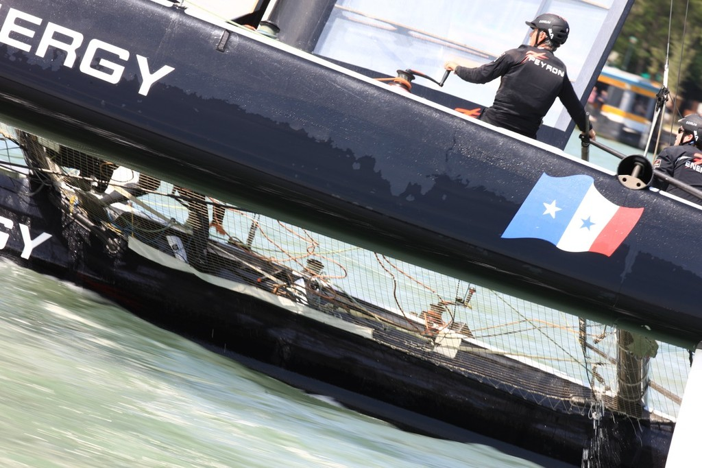 Energy Team Day 2 - America's Cup World Series Venice 2012 © ACEA - Photo Gilles Martin-Raget http://photo.americascup.com/