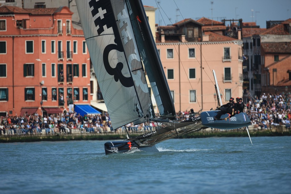 Energy Team Day 3 - America's Cup World Series Venice 2012 © ACEA - Photo Gilles Martin-Raget http://photo.americascup.com/