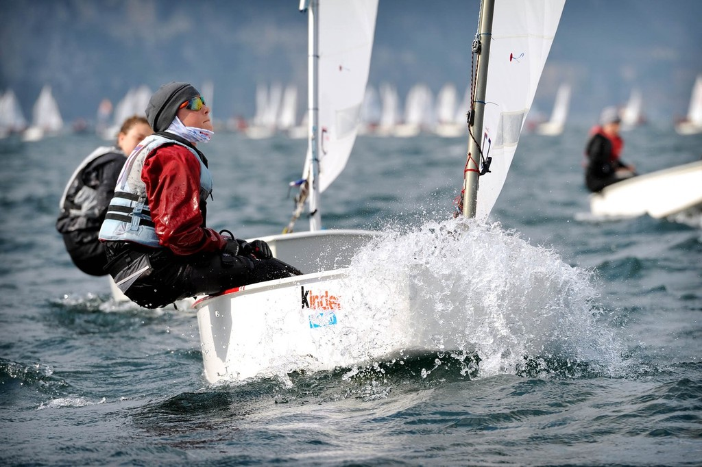 Garda Optimist Meeting © Giovanni De Sandre/ Fraglia Vela Riva http://www.fragliavelariva.it