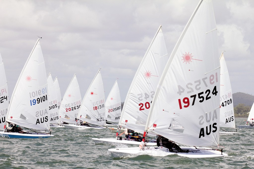 Laser Masters Radial Worlds Masters Race 7 © Laser Masters Worlds Media 2012 http://www.lasersailing.com.au