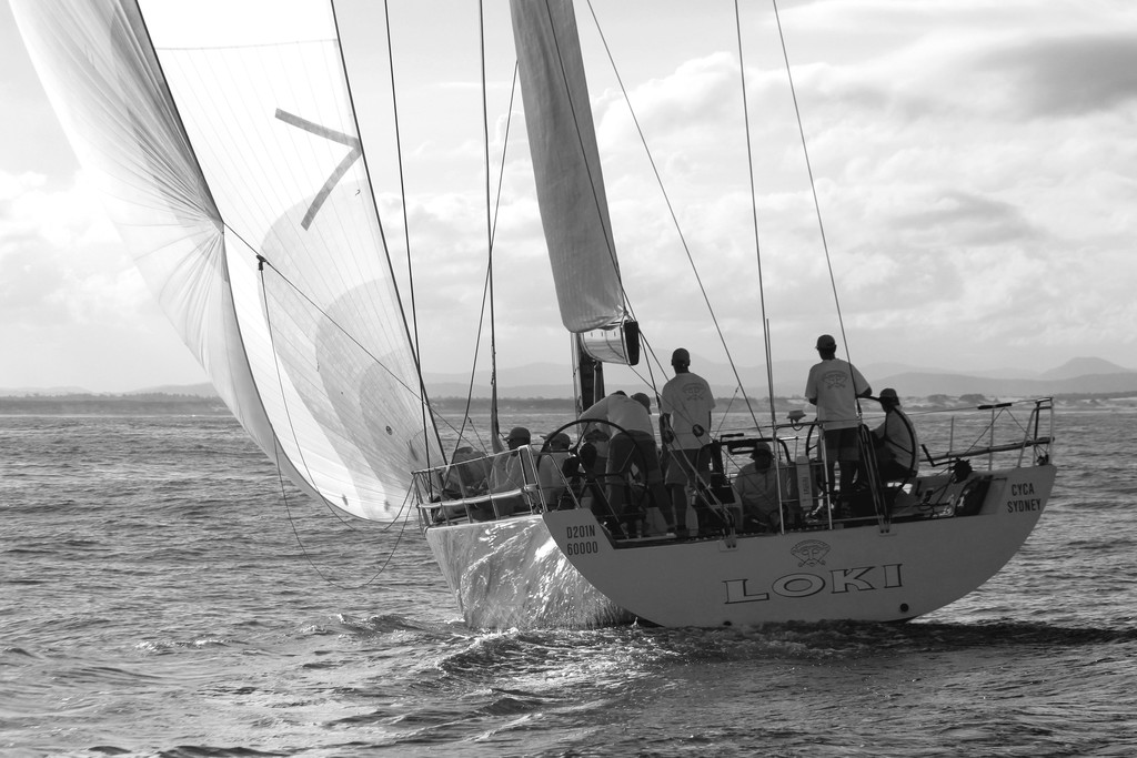 Loki - IRC Division 1. NSW IRC Championship. Sail Port Stephens 2012 day 6 © Sail Port Stephens Event Media
