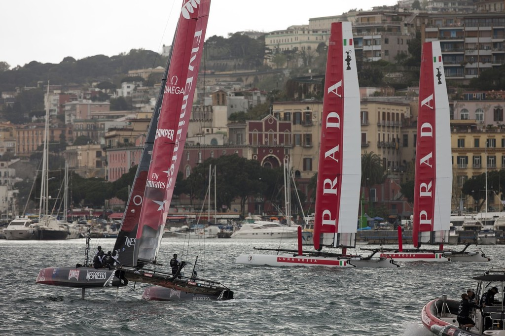 34th America's Cup - America's Cup World Series Naples 2012 -  © ACEA - Photo Gilles Martin-Raget http://photo.americascup.com/