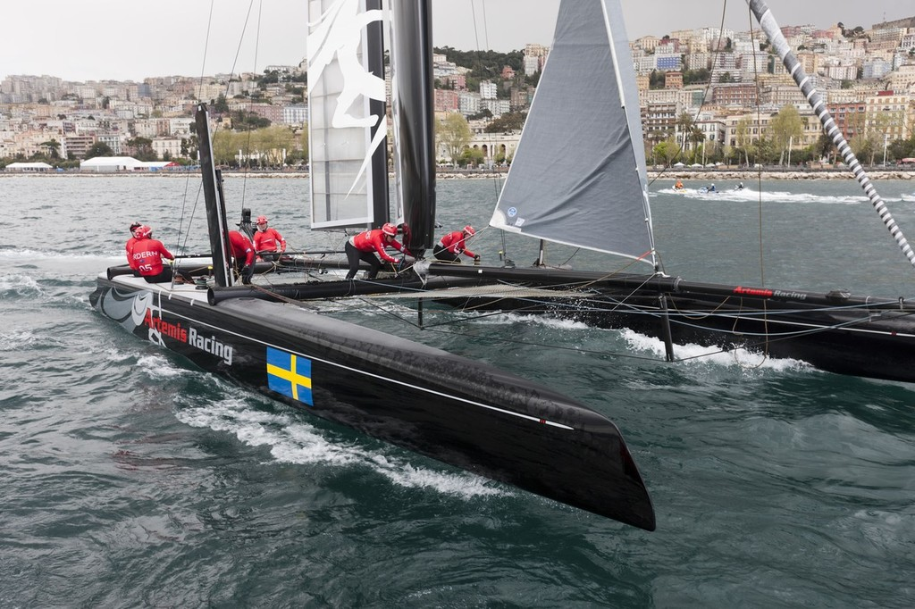 America's Cup World Series Naples 2012 -  © ACEA - Photo Gilles Martin-Raget http://photo.americascup.com/