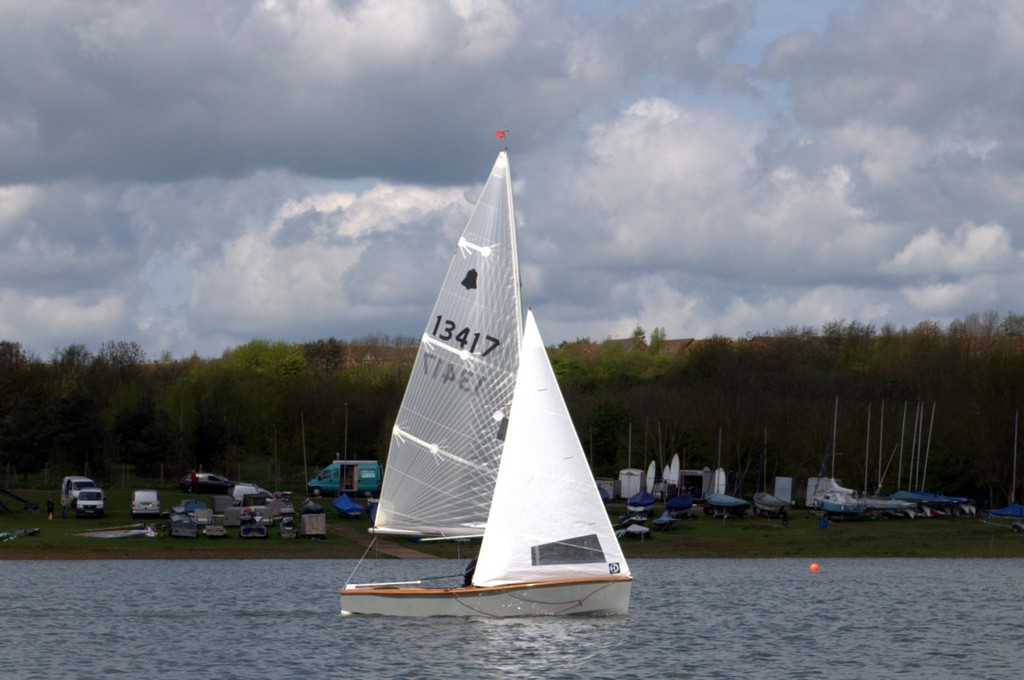 Winners - GP14 Inlands 2012 at Northampton SC © Gill Beddows