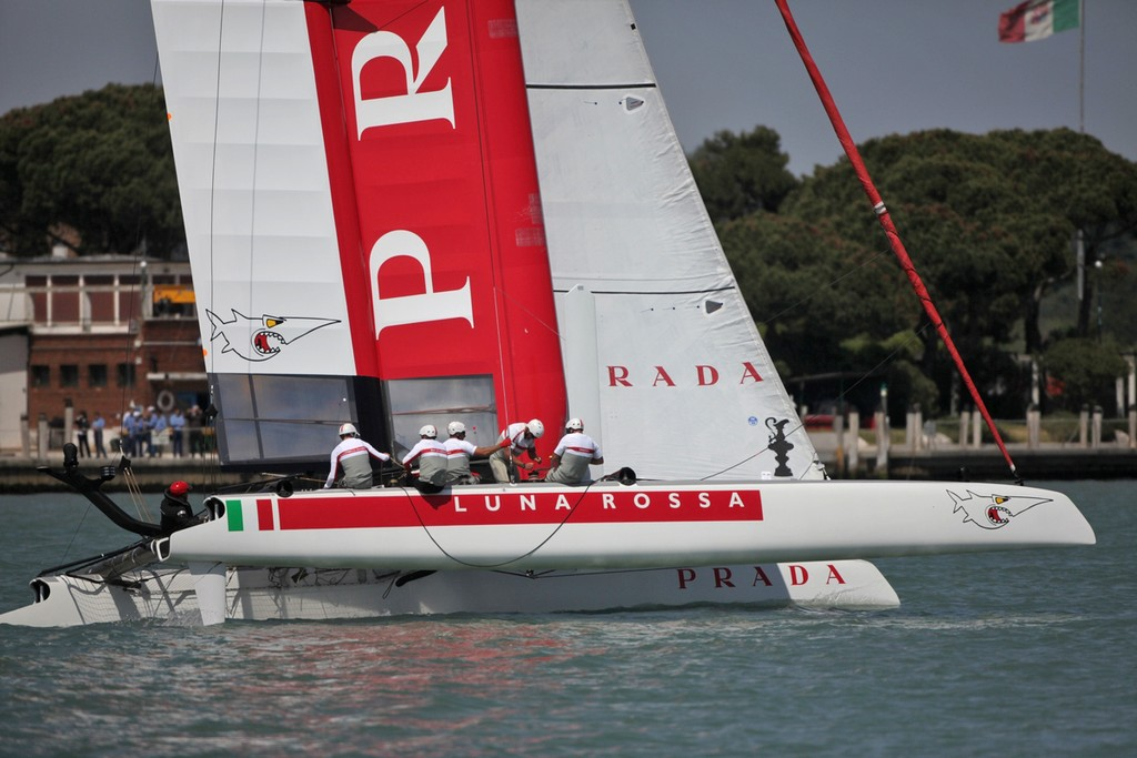 Day 2 - America's Cup World Series Venice 2012 ©  Max Ranchi Photography http://www.maxranchi.com