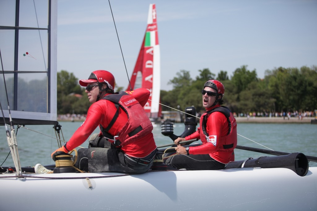Day 3 - America's Cup World Series Venice 2012 ©  Max Ranchi Photography http://www.maxranchi.com