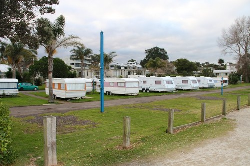 Takapuna Camping Ground in its present state. © Richard Gladwell www.photosport.co.nz