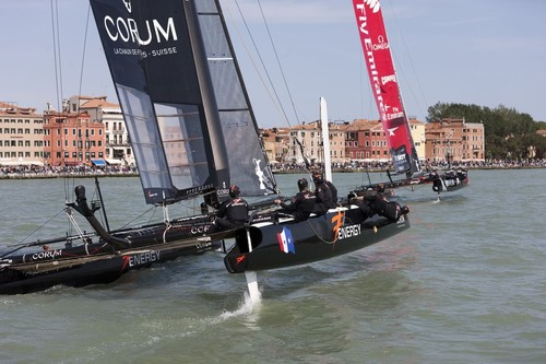 18/05/2012 - Venice (ITA) - 34th America's Cup - America's Cup World Series Venice 2012 - Racing Day 2 © ACEA - Photo Gilles Martin-Raget http://photo.americascup.com/
