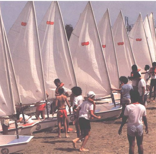 Youth Sailing Legacy - Los Angeles 1984 Olympic Sailing Competition © SW