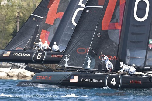 Oracle Racing will be a two boat team in the AC72's for the 34th America's Cup © Guilain Grenier Oracle Team USA http://www.oracleteamusamedia.com/