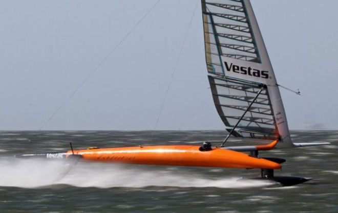 Vestas Sailrocket 2 © Vestas Sailrocket - copyright http://www.sailrocket.com