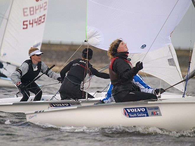 UK 420 Inlands – Lucy  Yeates & Ellie Devereux and Tim Riley_& Luke Burywood © Philip Alton