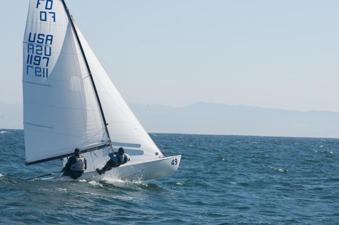 2012 Flying Dutchman World Championships Race 9 ©  Richard Phillips
