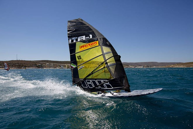 Cuchhi full speed - PWA Pegasus Airlines World Cup 2012 ©  John Carter / PWA http://www.pwaworldtour.com
