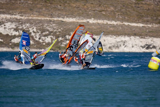 Diethelm leads the way - PWA Pegasus Airlines World Cup 2012 ©  John Carter / PWA http://www.pwaworldtour.com