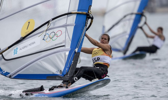 London 2012 - Olympic Games - MEDAL RACE WOMEN's RS-X © Carlo Borlenghi/FIV - copyright