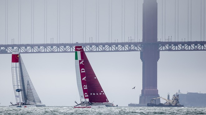 San Francisco America's Cup World Series Day 2 © Luna Rossa/Studio Borlenghi