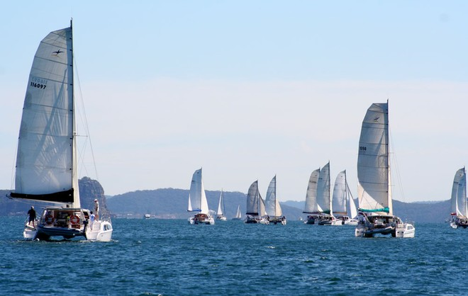 The 14th Annual Seawind Pittwater Regatta - 2012 Seawind Owners Pittwater Regatta © Brent Vaughan