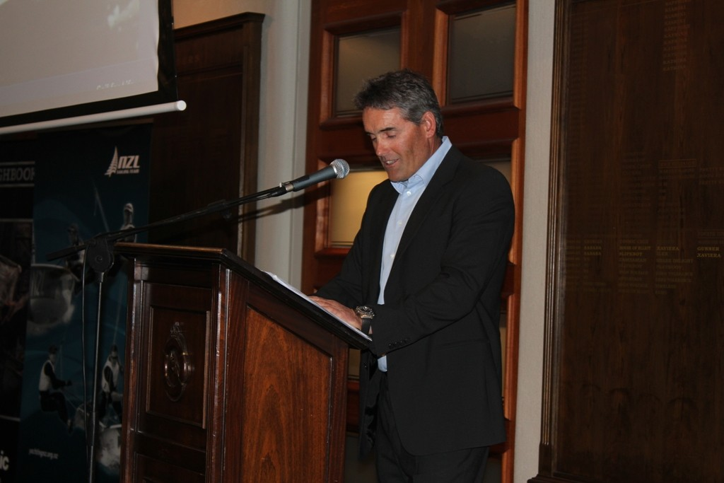 Guest speaker Sir Russell Coutts - 2012 Yachting Excellence Awards © Jodie Bakewell-White