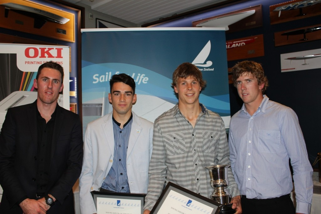 Marcus Hansen and Josh Porebski were named Singapore Airlines Young Sailor of the Year 2012 - 2012 Yachting Excellence Awards © Jodie Bakewell-White