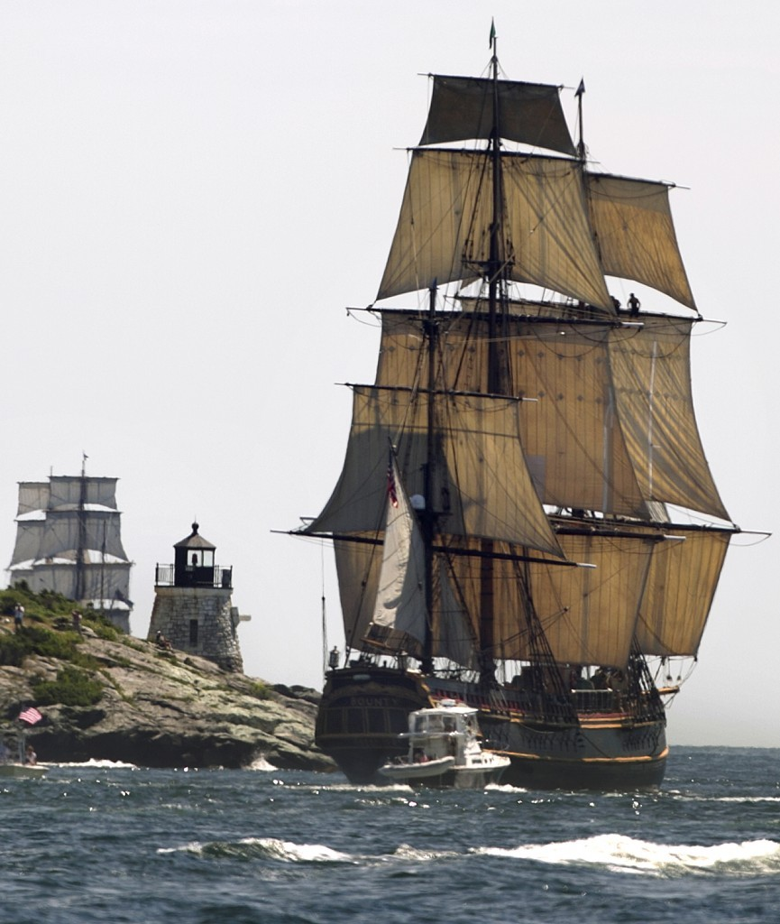 HMS Bounty remembered © SW
