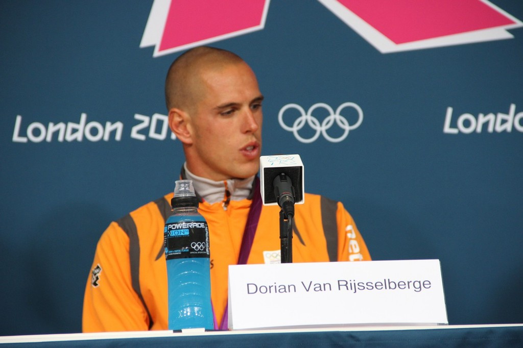 Dorian van Rijsselberghe (NED) Gold Medalist © Richard Gladwell www.photosport.co.nz
