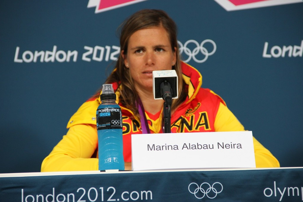 Marina Alabau (ESP) Gold Medalist © Richard Gladwell www.photosport.co.nz