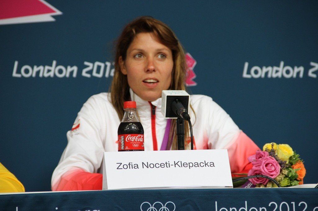 Zofia Klepacka (POL) Bronze Medalist © Richard Gladwell www.photosport.co.nz
