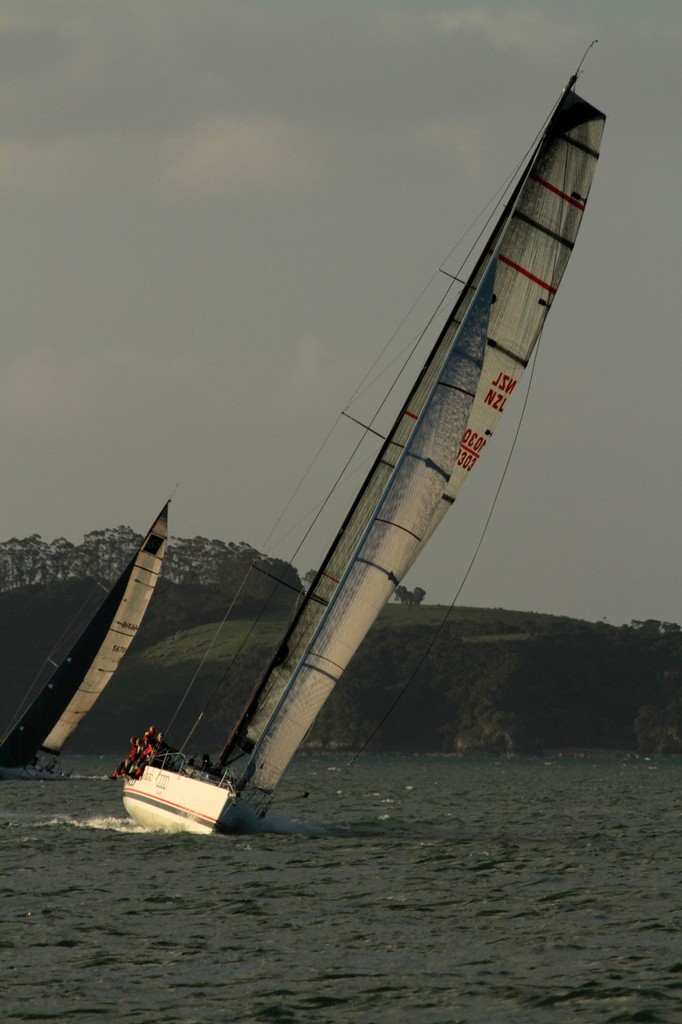 Wired finishes the 2012 Coastal Classic in Russell © Steve Western www.kingfishercharters.co.nz
