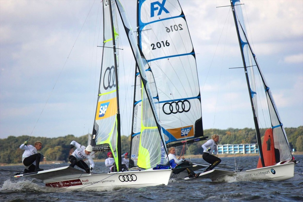 Germany - 49er FX © Mackay Boats http://www.mackayboats.com