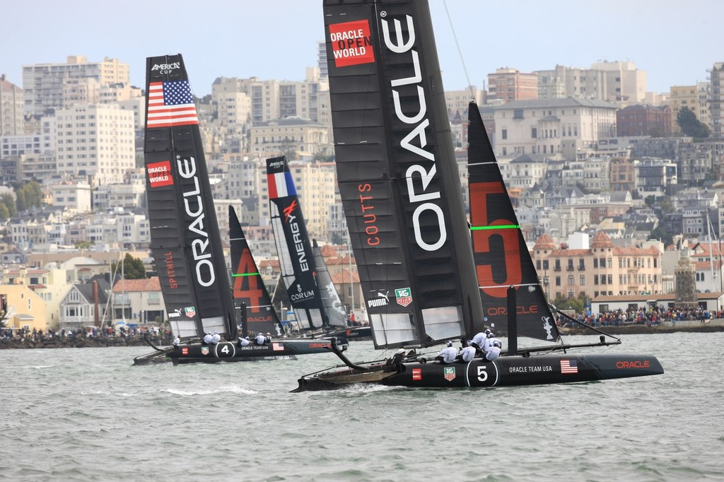 America's Cup World Series San Francisco 2012 August, Race Day 2 © ACEA - Photo Gilles Martin-Raget http://photo.americascup.com/
