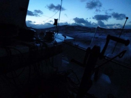 On board Gamesa - 2012 Vendee Globe © Mike Golding Yacht Racing http://www.mikegolding.com