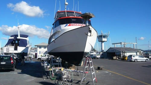 ASB Rescue's re-tubing is part of a bigger refit project © SW