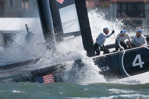 San Francisco 2012 Event One, Open training day 3 © ACEA - Photo Gilles Martin-Raget http://photo.americascup.com/