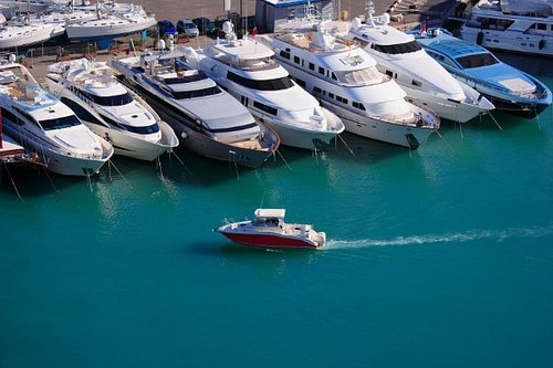 Soon the marinas of Australia may look a lot more like this ©  SW